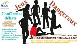 Conférence APEAS à Viry-Chatillon (91)