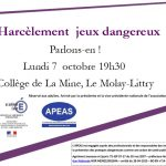 Conférence au MOLAY-LITTRY